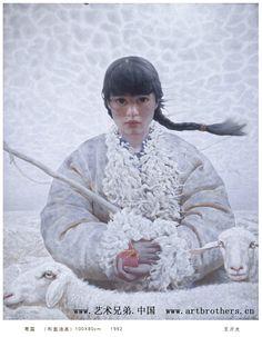 Wang Yi Guang nació (1962) en Yimeng zona de montaña de Shandong, China. Es hermano menor de otro pintor notable, Wang Yidong. Se graduó en la Academia Central de Bellas Artes en Beijing en 1990. A...