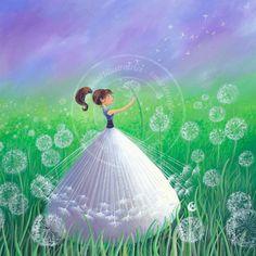 "https://www.facebook.com/MarieCardouatIllustratrice ....... ""Dandelions"" -  by Marie Cardout"