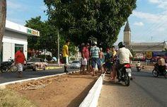 Acidente de moto provoca a morte de condutor e da namorada de apenas 13 anos, no centro de Catolé do Rocha | Gavião da Paraíba