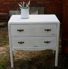 French Style Chest with 2 Drawers