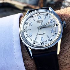"Heuer Carrera ""Classics"" series from 2000 by Watches For Men, Men's Watches, Tag Heuer, Luxury Watches, Carrera, Omega Watch, Photo Galleries, Designer Watches, Mens Fashion"