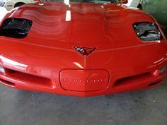 Corvette restoration/hood design