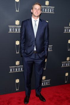 Jared Goff Photos - NFL Player Jared Goff attends the NFL Honors at University of Minnesota on February 3 2018 in Minneapolis Minnesota. Doug Baldwin, Bobby Wagner, Jared Goff, Todd Gurley, Gangster Rap, Richard Sherman, La Rams, Call Me Maybe, Patriots Fans
