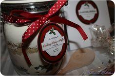 Cranberry-Walnuss-Muffins Backmischung im Glas