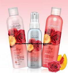 Tudo sobre Avon: Avon Naturals Rosas Vermelhas e Pêssego