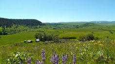 http://flanaganmotors.com Near Lewistown, MT.  There's no doubt why it's called The Big Sky Country.