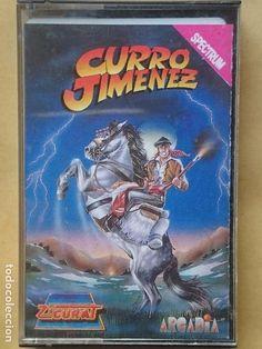 Juego Completo Cassette Software Español Curro Jimenez Arcadia Zigurat Spectrum