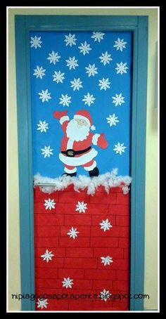 Νηπιαγωγός απο τα Πέντε: διακόσμηση πόρτας!!!!
