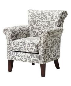 Gray Brooke Accent Chair