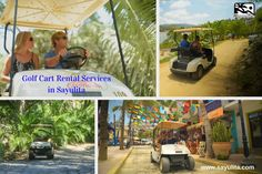 Sayulita golf cart rental service, Mexico