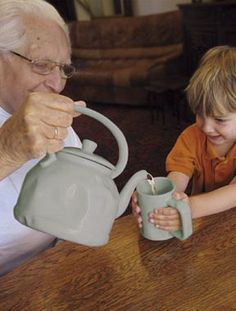 Grandpa's Kettle and Mug