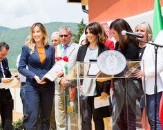 Sottosegretario Elena Boschi inaugura nuova scuola media Norcia