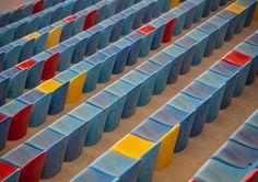 Seats at the Formula 1 circuit in Bachrain - ©Carambol Formula 1, Circuit, Make It Happen