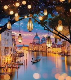THIS. This is stunning! How could it possibly be real? Bucket list view here! Venice, Italy