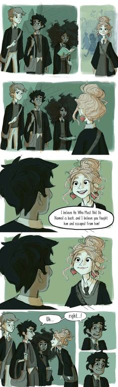 """I enjoyed the meetings, too. It was like having friends."" -Luna Lovegood see more awesome art at http://loquaciousliterature.tumblr.com/"