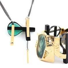 Edgy great jewelry