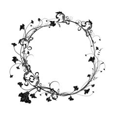 kwiaty4.png ❤ liked on Polyvore featuring frames, filler, borders, backgrounds, frame/pattern, embellishment, circular, circle, effect and detail