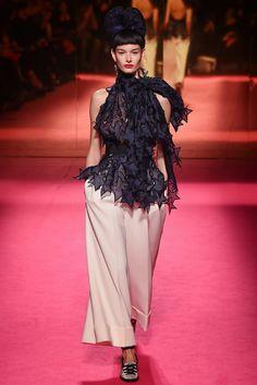 Haute Couture Primavera-Verano 2015: Schiaparelli: preciosa blusa