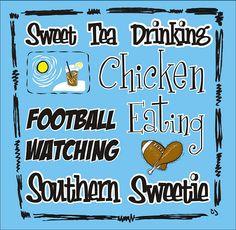 Sweet Tea Drinking...