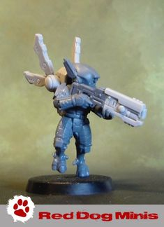 """Kitbashing Breachers into """"count-as"""" Vespid Stingwings."""