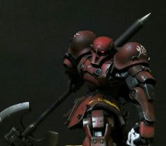 "Custom Build: 1/100 MS-05B ZAKU I ""flame"" - Gundam Kits Collection News and Reviews"
