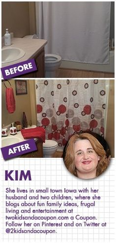 FAMILY DOLLAR HOME MAKEOVER CHALLENGE SWEEPSTAKES.  This is the way I'd like my bathroom to look.