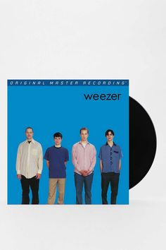 MUST OWN THIS ALBUM ON VINYL!! Weezer Blue Album - S/T LP - Urban Outfitters $30