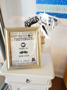 Moustache Party Photo booth Props | smile2grace