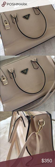 Prada bag 💼 Nude Prada bag . Prada Bags Shoulder Bags