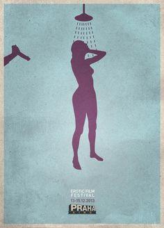 Kino Praha: Erotic Film Festival #Advertising #Psycho