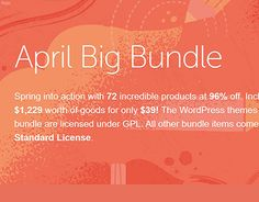 "Check out new work on my @Behance portfolio: ""April Big Bundle"" http://be.net/gallery/51447949/April-Big-Bundle"