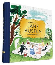 We are absolute FANS of Jane Austen here, at Clever Girl. Of all the books we've ever had, this is my favorite by far. The drawings are charming, and capture all that we adore about Austen. Discover t
