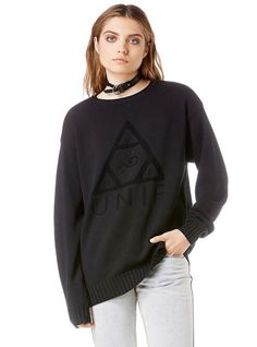 Unif Clothing, Sweaters For Women, Pullover, Clothes For Women, Logos, Sweatshirts, Collection, Christmas, Products