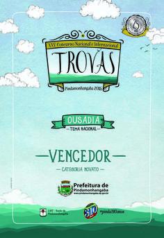 Concurso de Trovas - 2015   Prefeitura de Pindamonhangaba