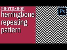 Create a Herringbone Pattern in Photoshop - Create your own custom pattern