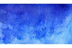 Watercolor blue abstract texture. Textures. $5.00
