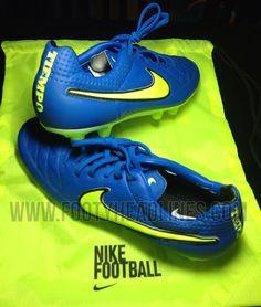 Blue / Volt Nike Tiempo Legend V 2014-2015 Boot Leaked - Footy Headlines