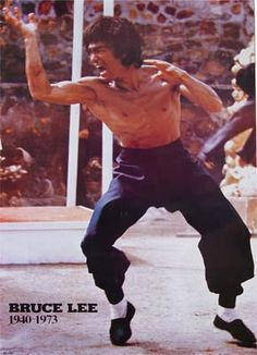 Bruce Lee 70's poster