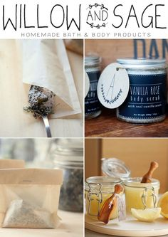 Stampington's newest DIY Magazine is Willow & Sage, Homemade Bath and Body Products