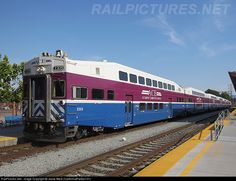 Altamont Commuter Express cab car #3309 sits ready to lead its train out of san Jose Diridon Station.