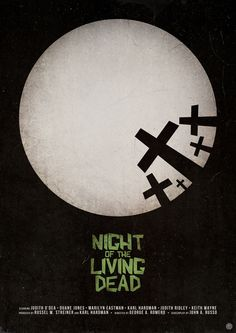 Night of the Living Dead (1968), directed by George Romero. The truly revolutionary film that started it all. If you haven't seen it, what are you waiting for?