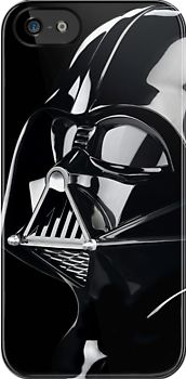 """""""Cool Darth Vader Mask - apple iphone 5, iphone 4 4s, iPhone 3Gs, iPod Touch 4g, iPad 2, iPad 3 case, Available for T-Shirt man and woman"""" iPhone & iPod Cases by Pointsale Project 