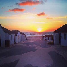 Near the Danish surf paradise Klitmøller you'll find these rustic fishing houses tucked away from the rest of the world.  Thanks @helle_boe_ for sharing via #visitdenmark. #nationalparkthy #visitthy #thy #northjutland #sand #sea #denmark #nature #sun by govisitdenmark