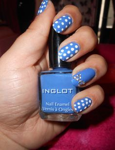 Love the dots! Have actually done this with the exact same colors. So cute!