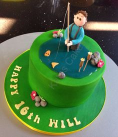 Cake Decorating Course Rugby : 1000+ images about Sport cakes on Pinterest Golf Cakes ...