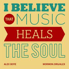 """I believe that music heals the soul."" i believe music IS my soul and no-one can take it away from my ever Great Quotes, Quotes To Live By, Life Quotes, Inspirational Quotes, Music Heals, Sing To Me, The Osmonds, Relief Society, Finding Joy"