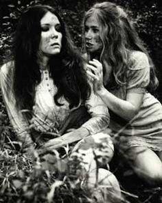 1968 - 'A Midsummer Night's Dream' (film)  Diana Rigg as Helena, Helen Mirren as Hermia