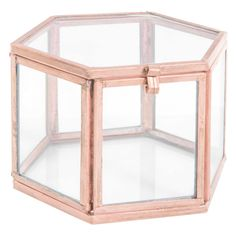 Vitrinenbox aus Kupferglas, TAMSIR COPPER