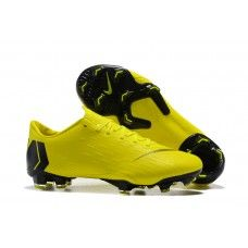 online store fe7f1 29eef 2018 Nike Mercurial Vapor XII PRO FG Botas de futbol Amarillo Negro