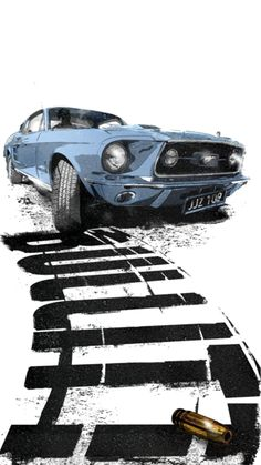 - My list of the best classic cars Film Cars, Movie Cars, Supercars, Audi R8 V10, Japon Illustration, Mustang Cars, 1967 Mustang, Mustang Fastback, Car Posters